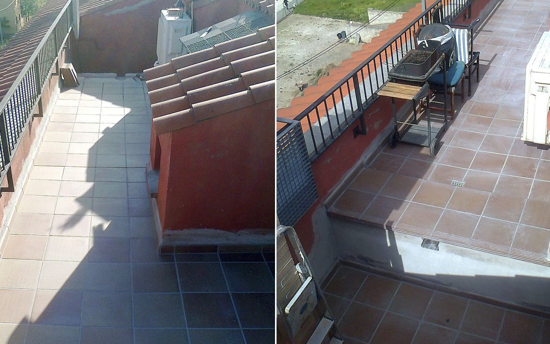 Rehabilitació de terrasses en edifici plurifamiliar, Celrà