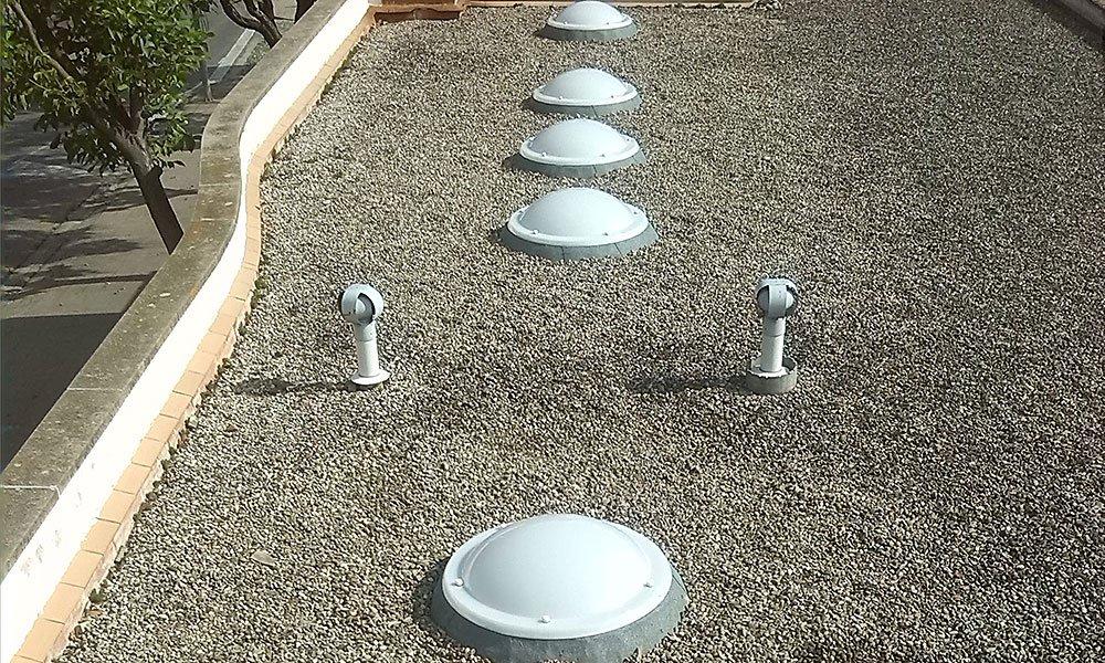 solucions de problemes d'humitats i degoters a la façana
