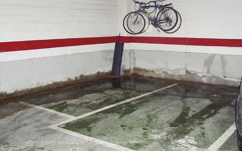 solucions de problemes d'humitats i degoters al garatge i pàrkings