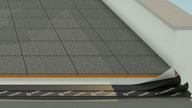 Impermeabilització de cobertes i teulades - llosa filtrón