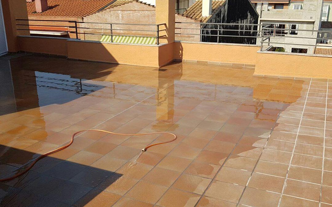 Rehabilitació i impermeabilització de terrassa, Girona