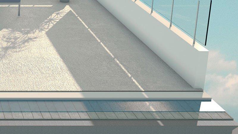 Impermeabilització de terrasses i terrats - resina de poliuretà