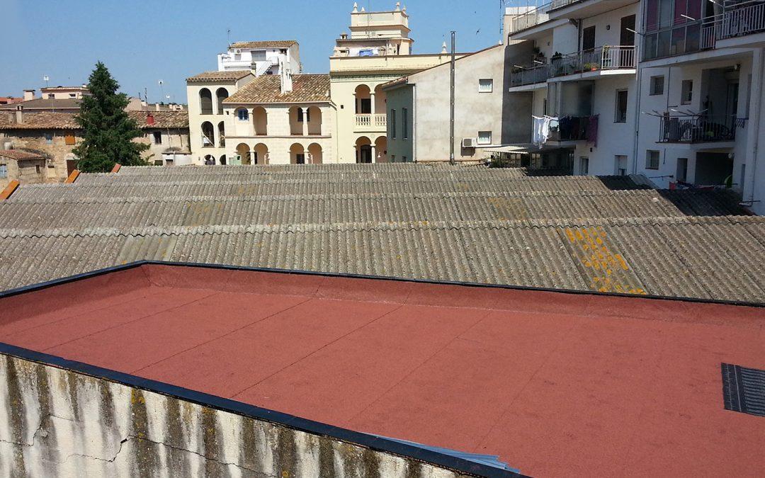 Rehabilitació de la coberta de pàrquing, Banyoles