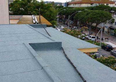 Rehabilitació de coberta edifici plurifamiliar, Platja d'Aro