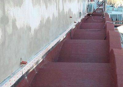 Rehabilitació de voladís sobre local comercial, Empuriabrava