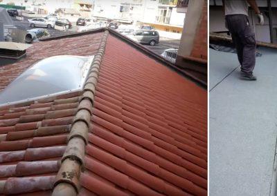 Rehabilitació total de coberta de La Sirena, Girona
