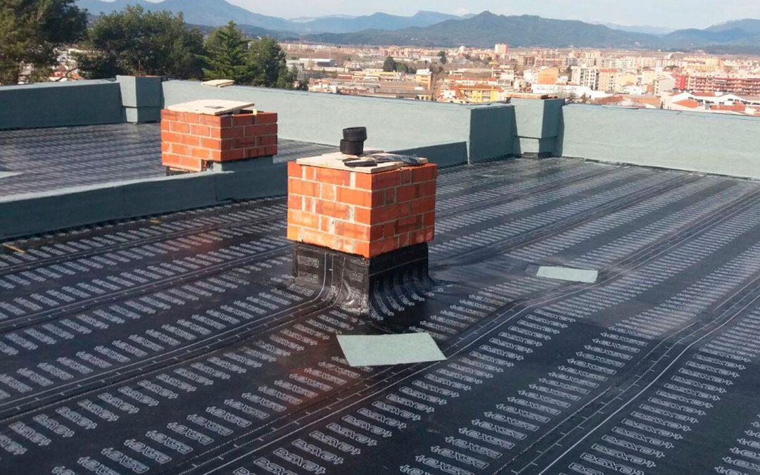 Impermeabilització de coberta casa unifamiliar, Girona