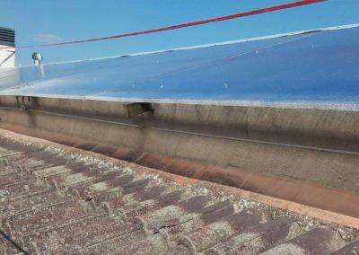 Rehabilitació de teulada amb policarbonat, Girona