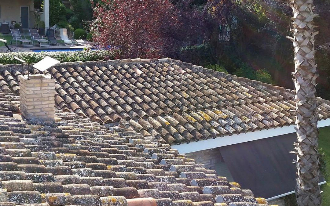 Manteniment de coberta de casa unifamiliar, Girona