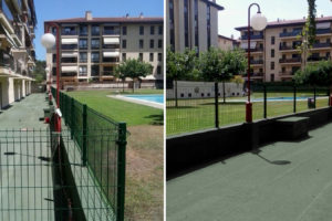 Rehabilitació de terrassa d'edifici plurifamiliar, Girona