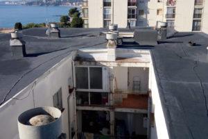 Rehabilitació de coberta en habitatge plurifamiliar, Palamós