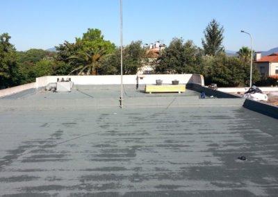 Rehabilitació de coberta a l'Escola Pla de Palau, Girona