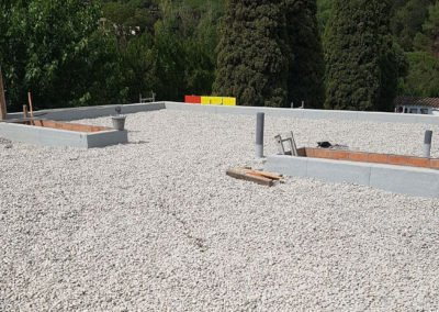 Impermeabilització de coberta d'obra nova en edifici públic, Breda