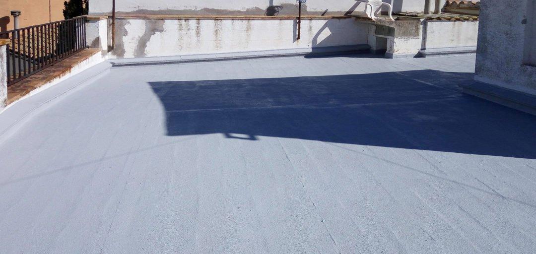 Rehabilitació coberta amb química constructiva, Port de la Selva
