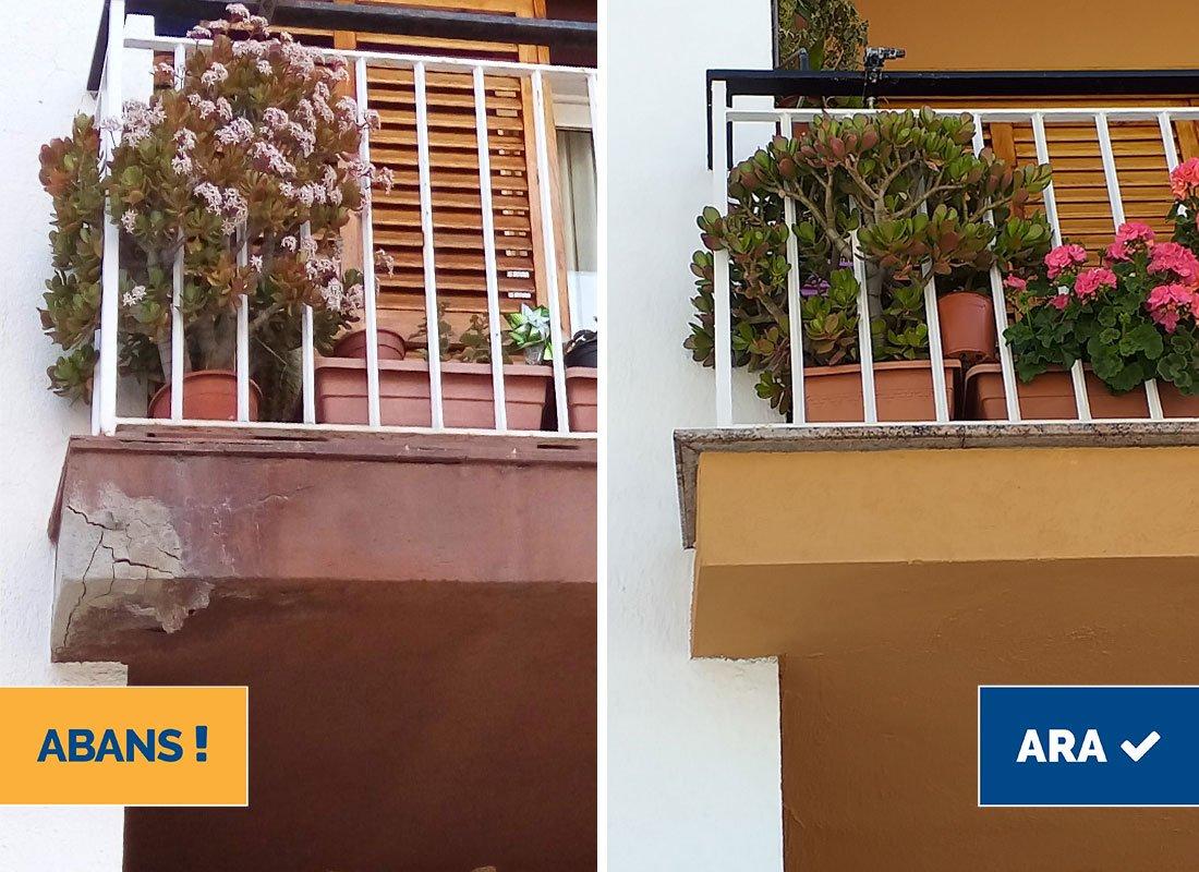 Restauració de cornises i balcons