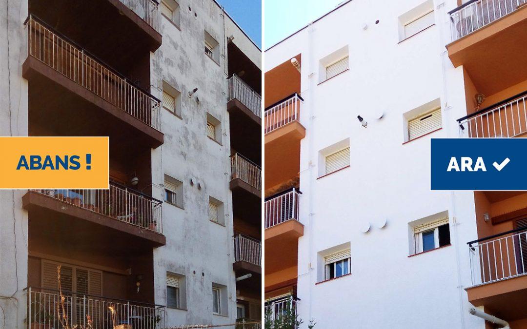Rehabilitació de façana i balcons en edifici plurifamiliar, Tossa de Mar