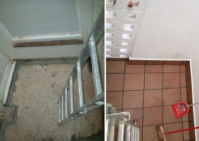 Rehabilitació terrassa interior edifici plurifamiliar, Tossa de Mar