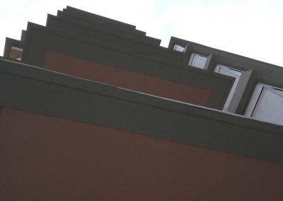Rehabilitació de façana en edifici plurifamiliar, Girona